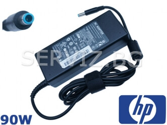 Зарядно за лаптоп HP - 90W - синя букса 4.5мм-3.0мм - заместител