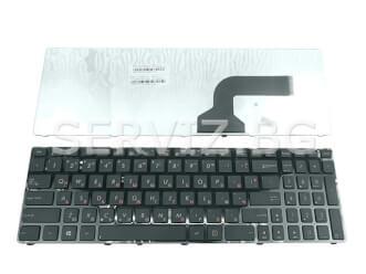 Клавиатура за Asus X54, X52, X61 ,X55, P52, P53, U50 с рамка