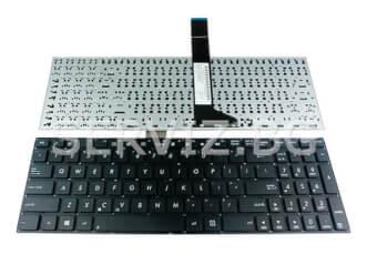 Клавиатура за Asus K56CB, K56CM, K56C - без рамка, малък ентер