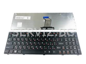 Клавиатура за Lenovo G570, G575, G770, Z560 - черна рамка