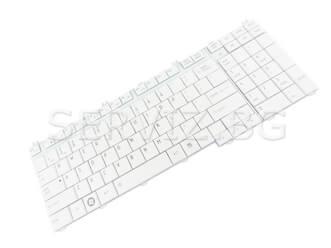 Клавиатура за Toshiba Satellite P300, P305, P500, P505 - бяла