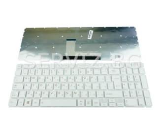 Клавиатура за Toshiba Satellite L50-B, P50-C, S50-B - бяла с голям ентер