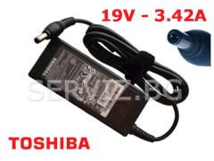 Оригинално зарядно за лаптоп Toshiba 19V - 3.42A
