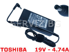 Зарядно за лаптоп Toshiba - 19V - 4.74A - заместител