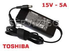 Оригинално зарядно за лаптоп Toshiba - 15V - 5A