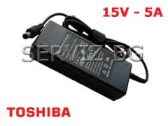 Зарядно за лаптоп Toshiba - 15V - 5A - заместител
