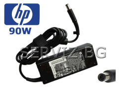 Оригинално зарядно за лаптоп HP / Compaq - 90W - Smart