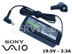 Оригинално зарядно за лаптоп Sony Vaio - 19.5V - 3.3A