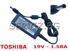 Оригинално зарядно за лаптоп Toshiba Mini - 19V - 1.58A