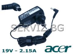 Оригинално зарядно за  лаптоп Acer Aspire One - 19V - 2.15A