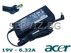 Оригинално зарядно за  лаптоп Acer - 19V - 6.32A - 120W