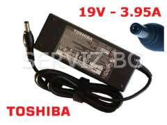 Оригинално зарядно за лаптоп Toshiba Satellite - 19V - 3.95A