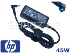Оригинално зарядно за лаптоп HP - 45W - синя букса 4.5мм-3.0мм
