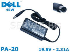 Оригинално зарядно за лаптоп DELL - PA-20 - 45W
