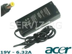 Зарядно за лаптоп Acer - 19V - 6.32A - 120W - заместител