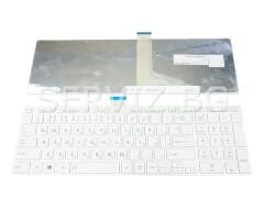Клавиатура за Toshiba Satellite C855, L850, C850 - бяла