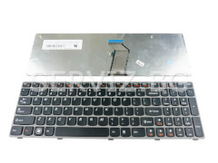 Клавиатура за Lenovo G570, G575, G770, Z560 - сива рамка
