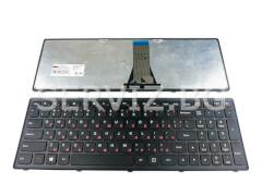 Клавиатура за лаптопи Lenovo Z510, G500S, G505S, S500 - черна рамка