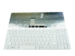 Клавиатура за Toshiba Satellite L50-B, P50-C, S50-B - бяла с малък ентер