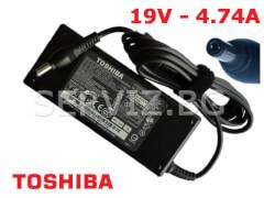 Оригинално зарядно за лаптоп Toshiba - 19V - 4.74A
